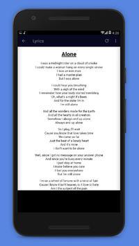 The BEE GEES Songs & Lyrics screenshot 2