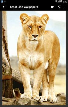 Great Lion Wallpapers apk screenshot