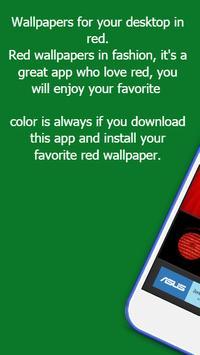 Red Wallpapers apk screenshot