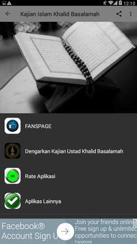 Kajian Islam Khalid Basalamah poster