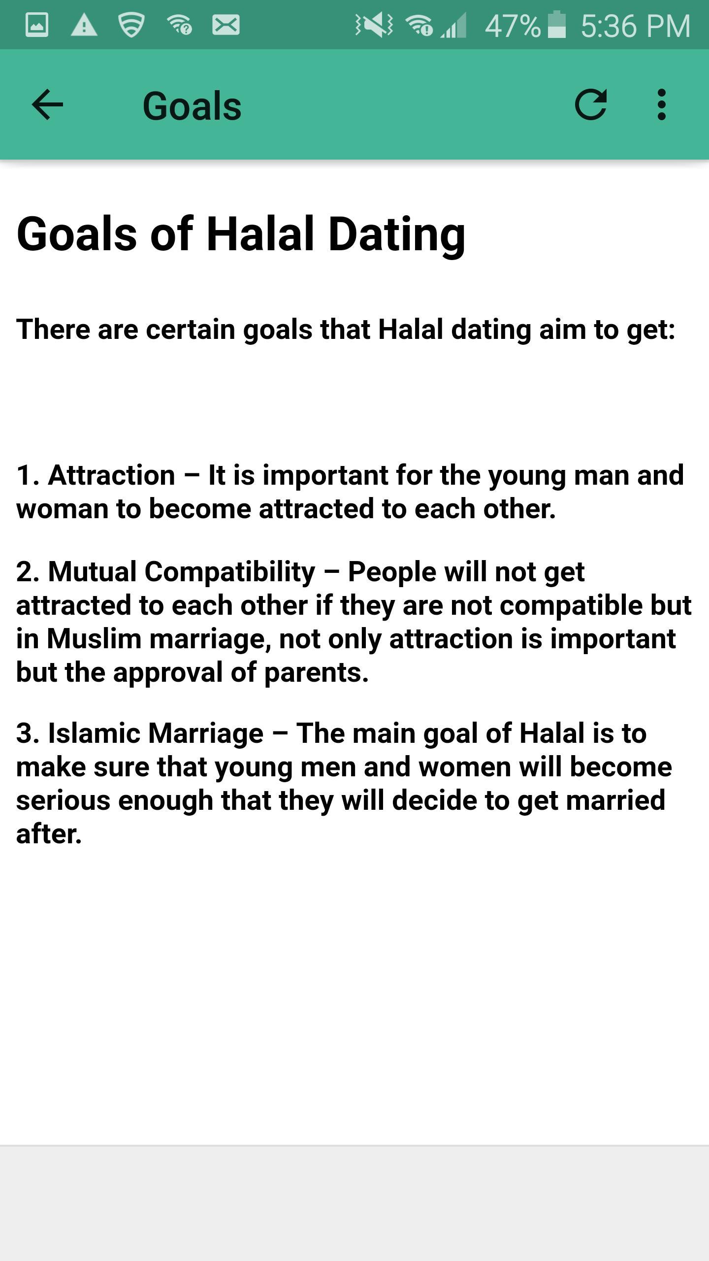 muslim halal dating