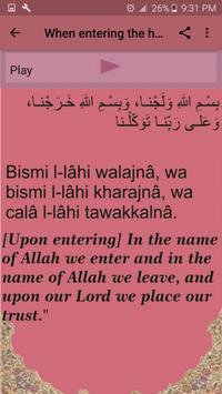 Hisnul Muslim (daily azkar) screenshot 4
