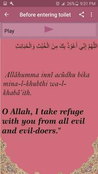 Hisnul Muslim (daily azkar) screenshot 9