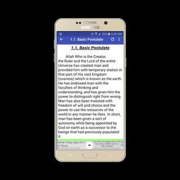 Islamic way of life apk screenshot