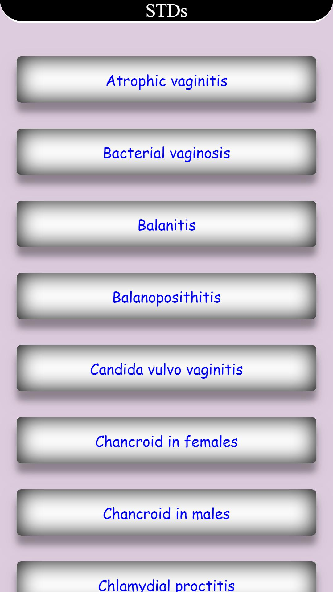 STDs Sexually Transmitted Diseases for Android - APK Download