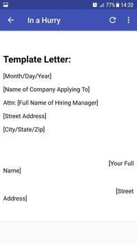 Job Application screenshot 12