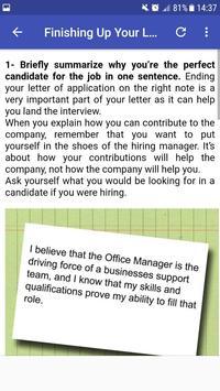 Job Application screenshot 1