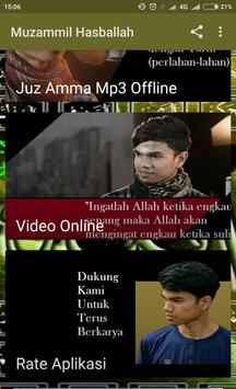 Murottal Muzammil Hasballah Video dan Mp3 Offline screenshot 2