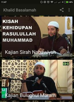 KAJIAN KHALID BASALAMAH CERAMAH AUDIO MP3 VIDEO screenshot 2
