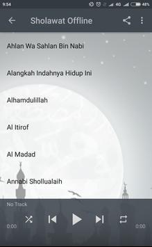 SHOLAWAT NABI RASUL MP3 HABIB SYECH MERDU OFFLINE screenshot 2