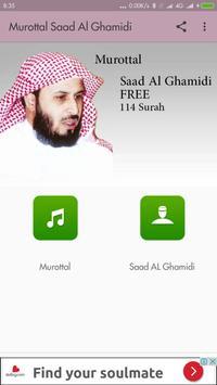 Murottal Saad Al Ghamidi poster