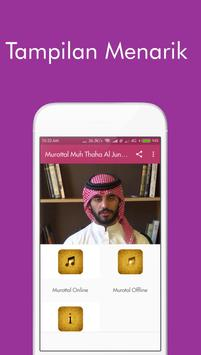 Murottal Muh Thaha Al Junaid poster