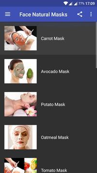 Face Natural Masks poster