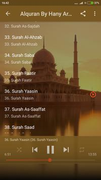 Quran Mp3 Sheikh Hani Ar Rifai Offline screenshot 1