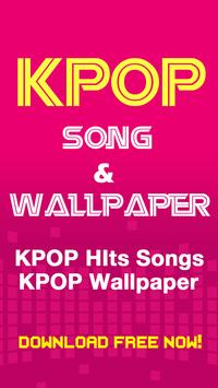 KPOP Hits Songs & Wallpaper poster