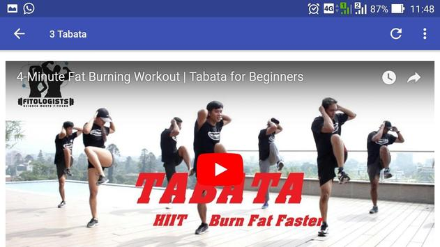 Tabata screenshot 3