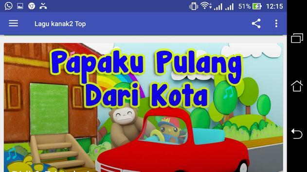Lagu Kanak2 Top screenshot 2
