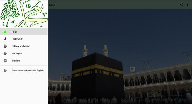 ANawawi 40 Hadith English Mp3 apk screenshot