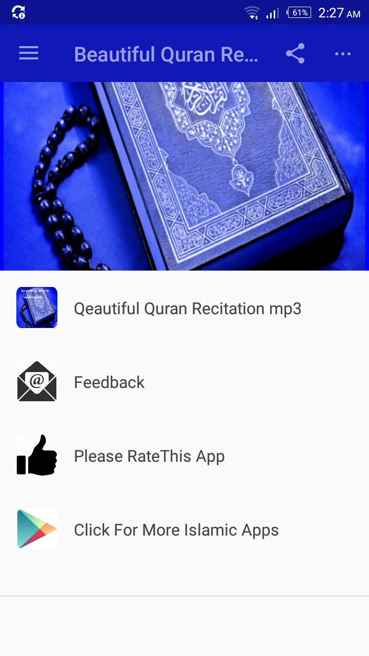 Beautiful Quran Recitation mp3 for Android - APK Download