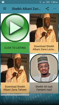Sheikh Albani Zaria Audio mp3 poster