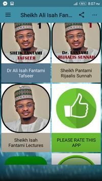 Sheikh Ali Isah Fantami mp3 apk screenshot