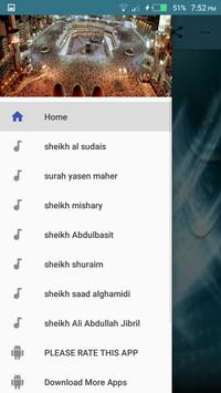 Surah Yaseen mp3 apk screenshot