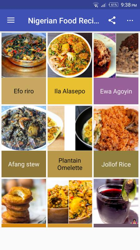 Nigerian food recipes for android apk download nigerian food recipes poster forumfinder Choice Image