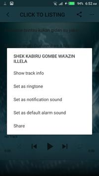 Sheikh Kabiru Gombe Audio mp3 screenshot 3