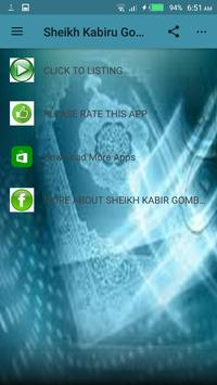Sheikh Kabiru Gombe Audio mp3 screenshot 1
