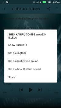 Sheikh Kabiru Gombe Audio mp3 screenshot 7