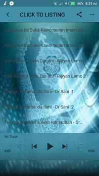 Sani Umar Rijiyar Lemo Lecture mp3 apk screenshot