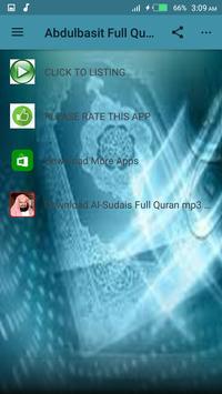 Abdulbasit Full Quran Offline screenshot 4