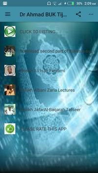 Dr Ahmad BUK Tijalatus-Sunnah poster