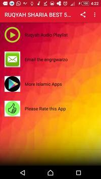 RUQYAH SHARIA BEST 5 SHEIKHS OFFLINE MP3 poster