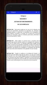 📚Ley de Transito Honduras🇭🇳🚸Transito Gratis screenshot 3
