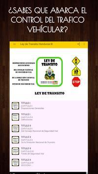 📚Ley de Transito Honduras🇭🇳🚸Transito Gratis poster