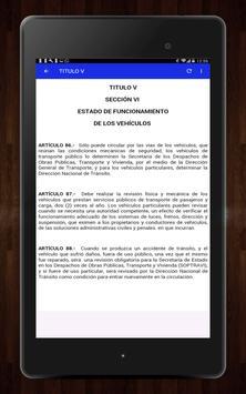 📚Ley de Transito Honduras🇭🇳🚸Transito Gratis screenshot 19
