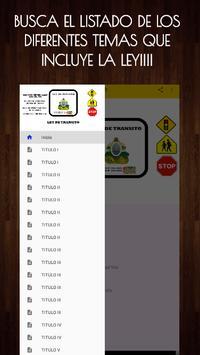 📚Ley de Transito Honduras🇭🇳🚸Transito Gratis screenshot 1