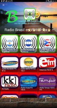 Radio Brasil en Vivo⭐Radios FM screenshot 1