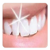 teeth whitening naturally icon