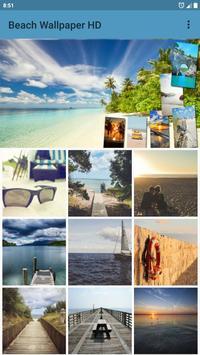 Beach Wallpaper poster