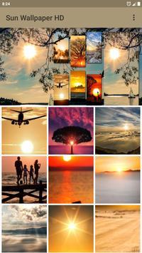 Sun Wallpaper poster