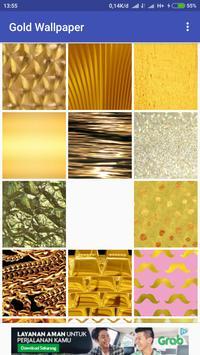 Gold Wallpaper poster