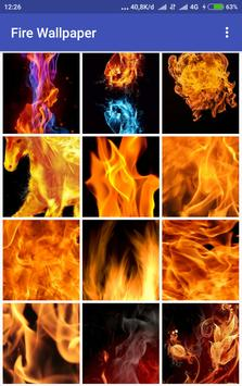 Fire Wallpaper apk screenshot