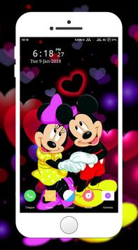 Mickey and Minny Wallpaper screenshot 1