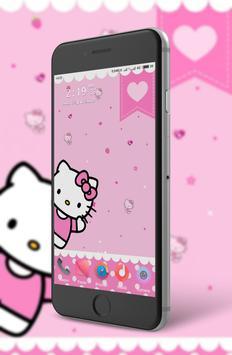 Hi Kitty Wallpaper poster