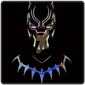 Black Panther Art Wallpapers HD icon