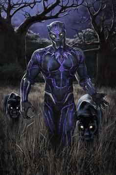 Black Panther Art Wallpapers HD apk screenshot