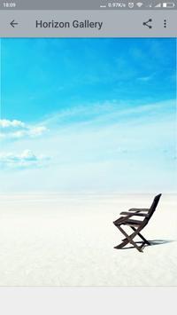 Horizon wallpaper poster