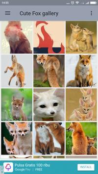 Cute Fox Wallpaper screenshot 1